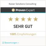 Besuchen Sie unser ProvenExpert Profil